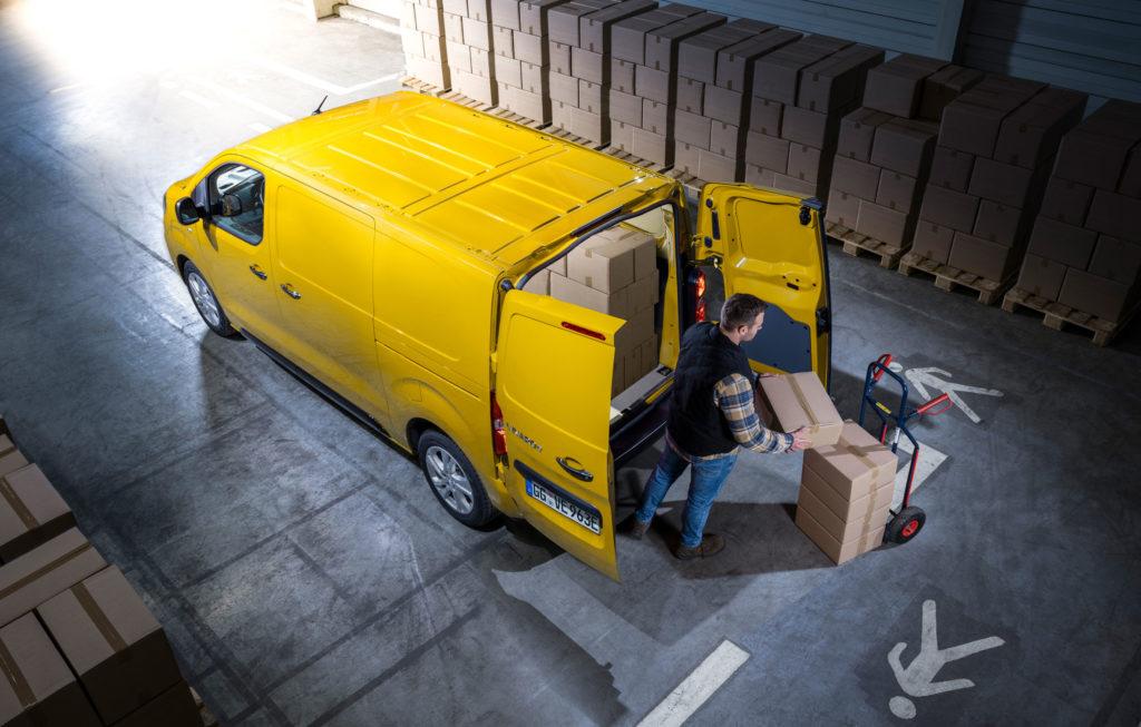 Elektryczny dostawczak Opel Vivaro-e