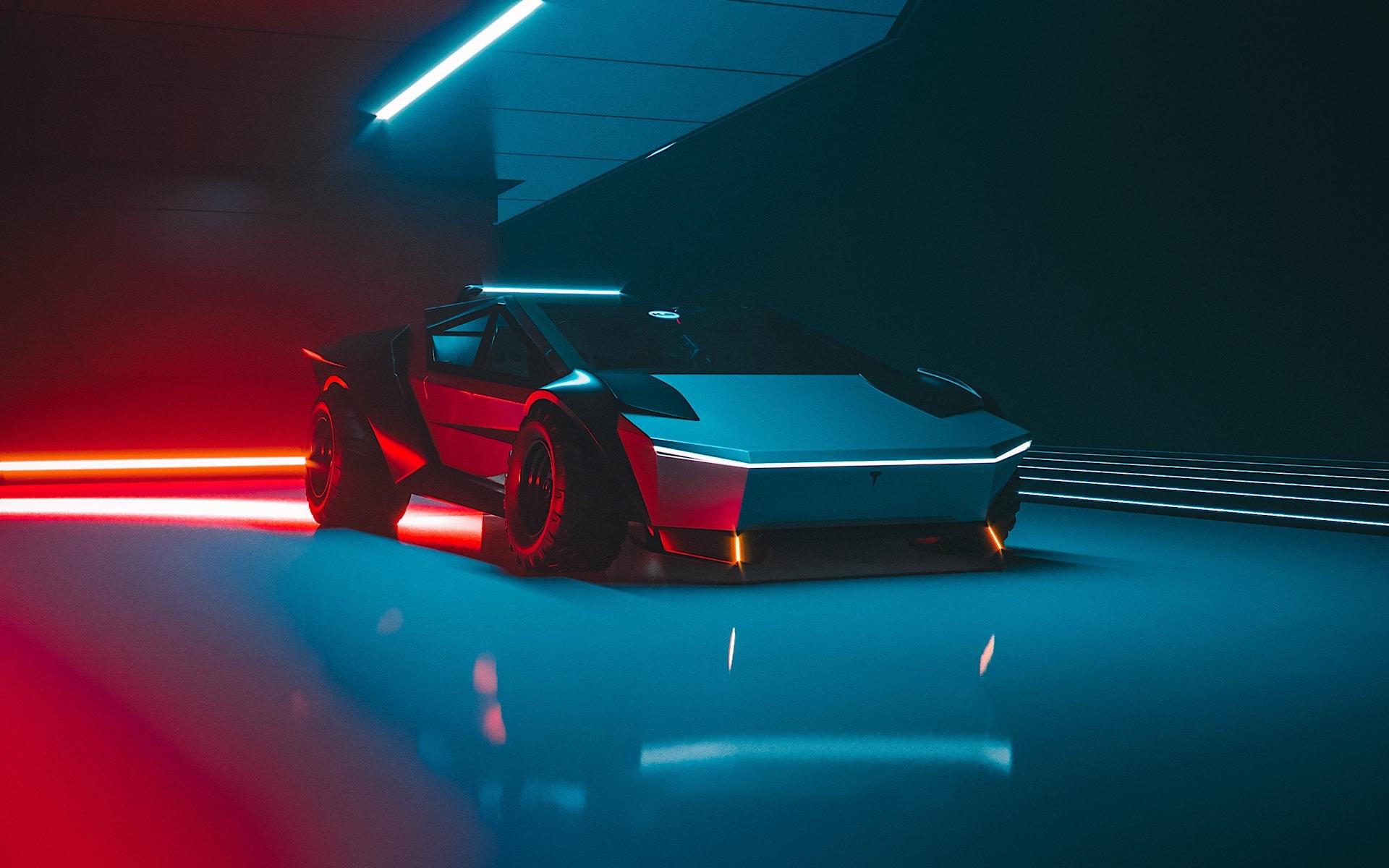 Tesla Cybertruck Re-Design