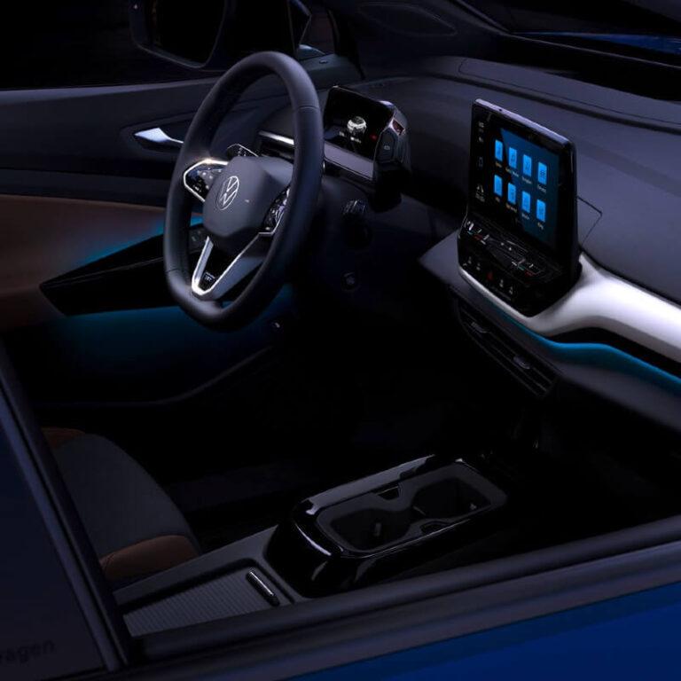 Wnętrze Volkswagena ID.4