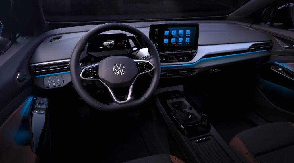 Kokpit Volkswagena ID.4