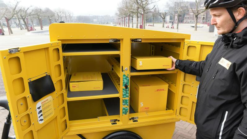 rowery cargo chariot dhl