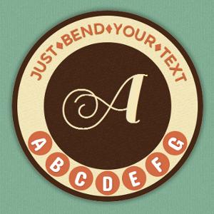 Efekt obróconych liter z CSS3 i jQuery - Arctext.js
