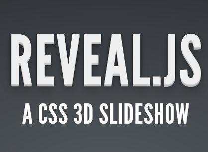 Reveal.js - kolejna kapitalna biblioteka do prezentacji w przeglądarce przy użyciu CSS3