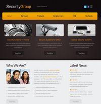SecurityGroup – darmowy szablon WWW