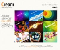 Cream – darmowy i o dziwo atrakcyjny szablon jQuery