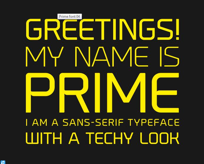 Prime Font - must have!