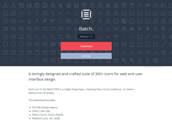 Batch • 300+ Icons for Web   User Interface Design