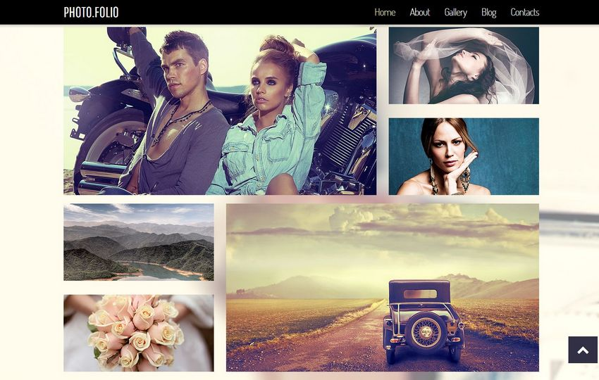 Darmowy szablon w HTML5 dla strony ze sporą ilością zdjęć