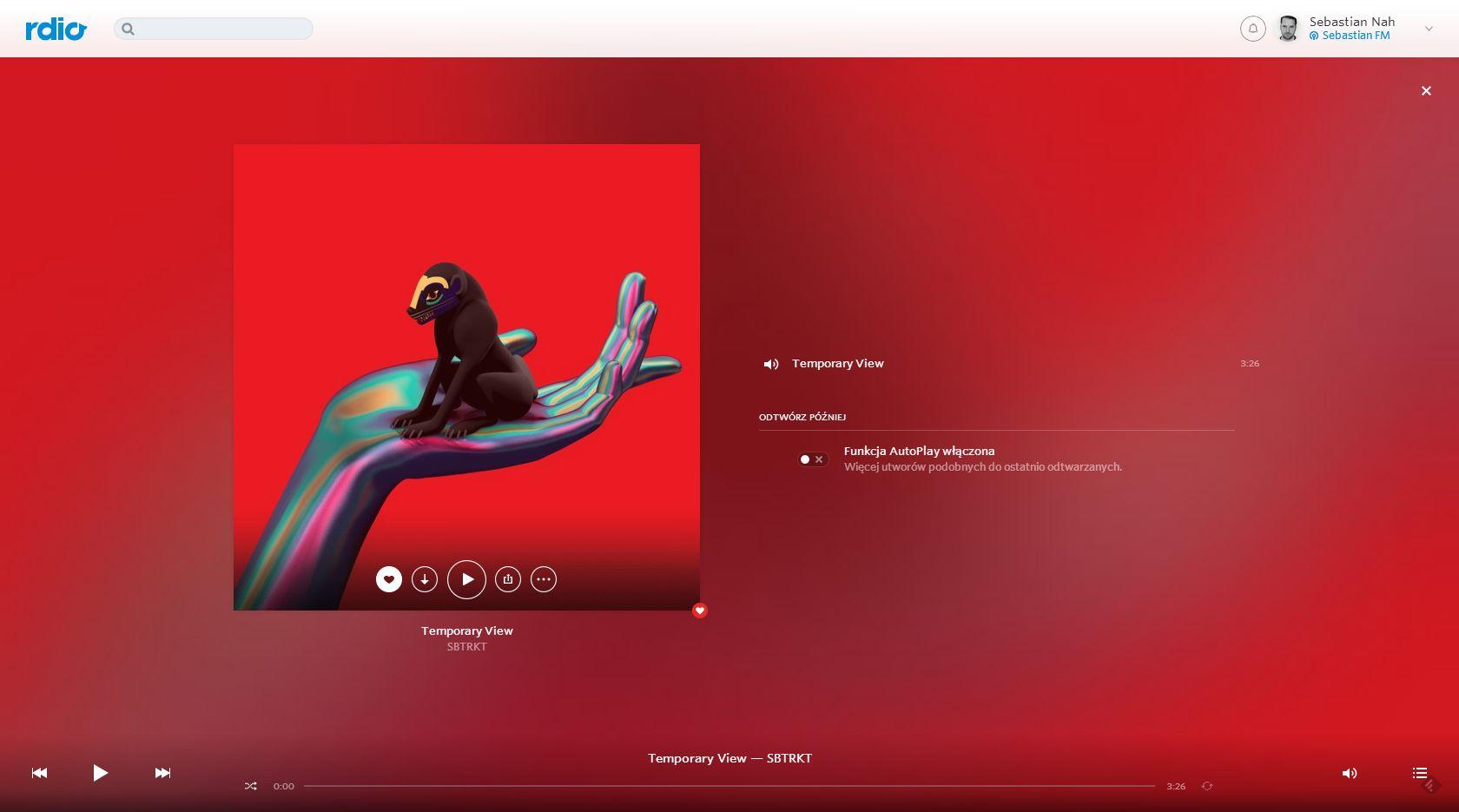 Moje ukochane Rdio aktualizuje wygląd, jest jeszcze piękniejsze niż Spotify i Deezer razem wzięte