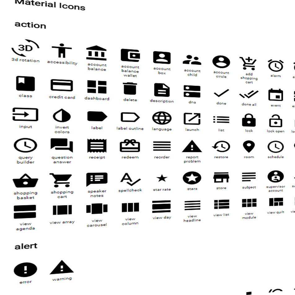 Material Design (Google): darmowe materiały po raz kolejny – 750 ikon!