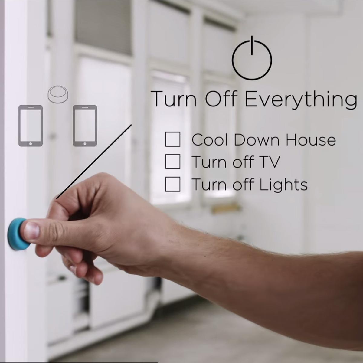 Magiczny przycisk do smartfona – Flic
