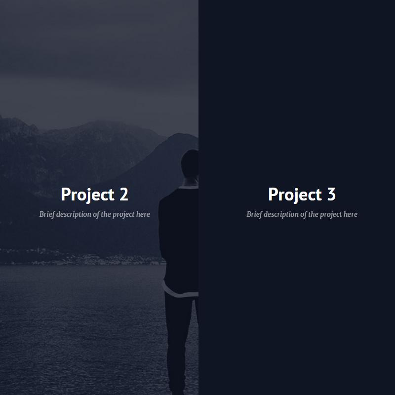 Efektowny szablon HTML dla prostej strony