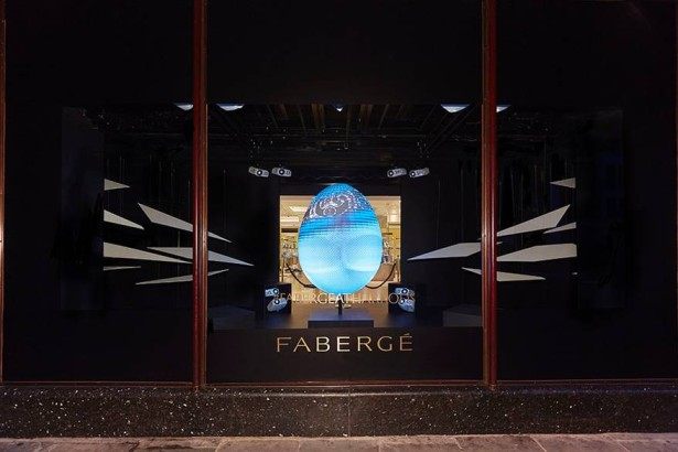 Fabergé+at+Harrods+-+3D+Projection+1