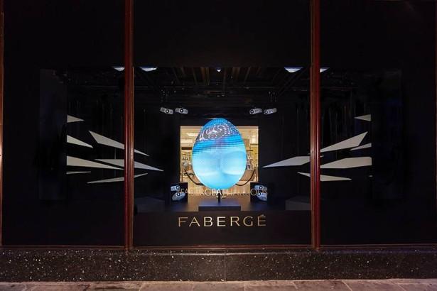 Fabergé+at+Harrods+-+3D+Projection+1