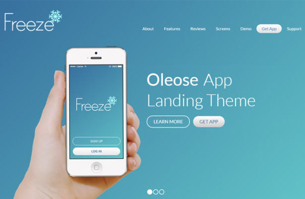 OLEOSE-MOBILE-APP-LANDING-PAGE