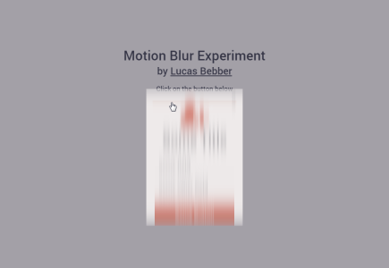 motion-blur-experiment