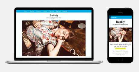 Bubbly-WordPress-Blog-Theme