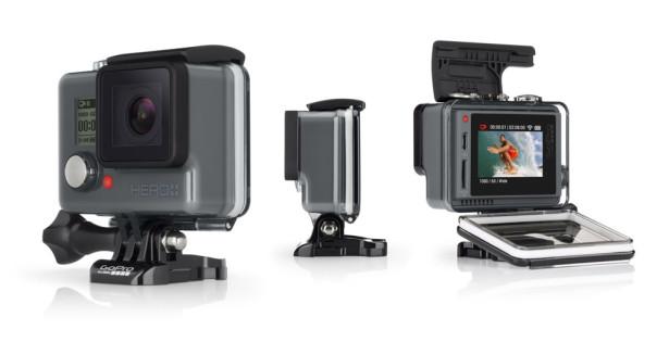 Go Pro HERO+LCD kamera sportowa