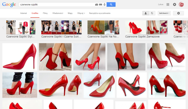 czerwone szpilki   Szukaj wGoogle