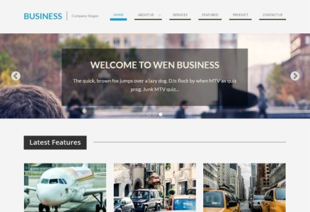wen-business-free-theme-screenshot