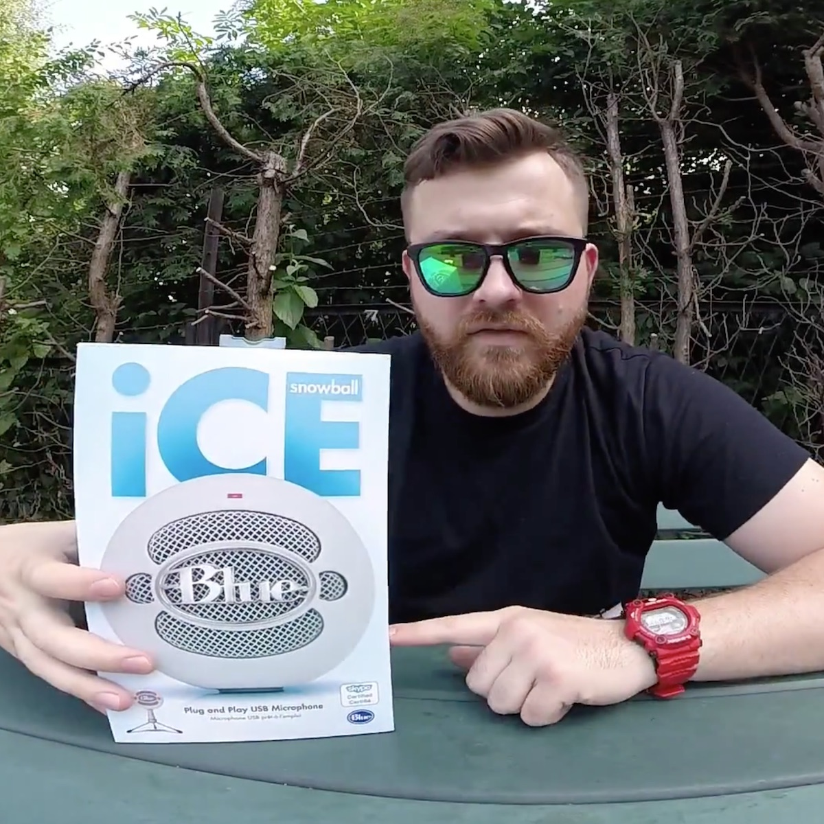 [VIDEO] Unboxing mikrofonu BLUE Snowball ICE