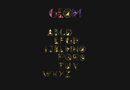 geom-display-an-fully-geometrically-adorned-typeface