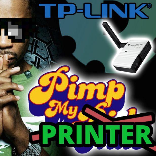 TP-LINK bezprzewodowy serwer druku