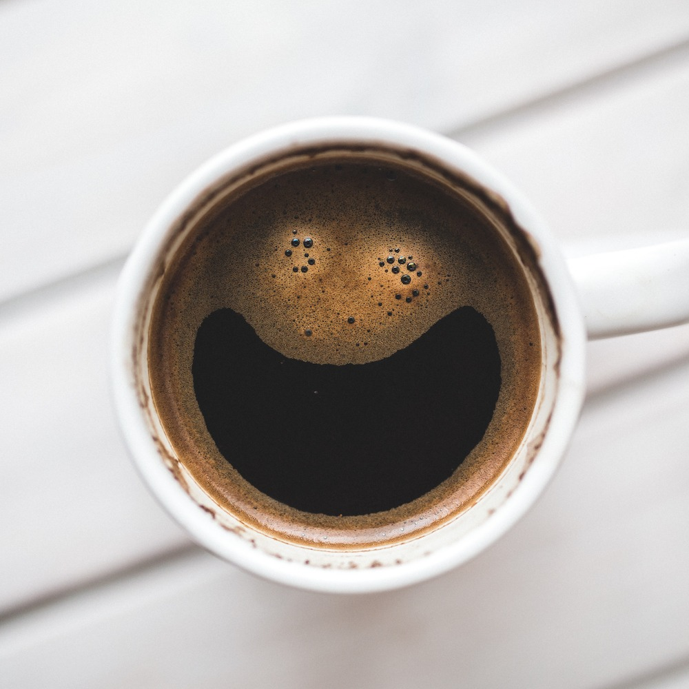 coffee cup working happya