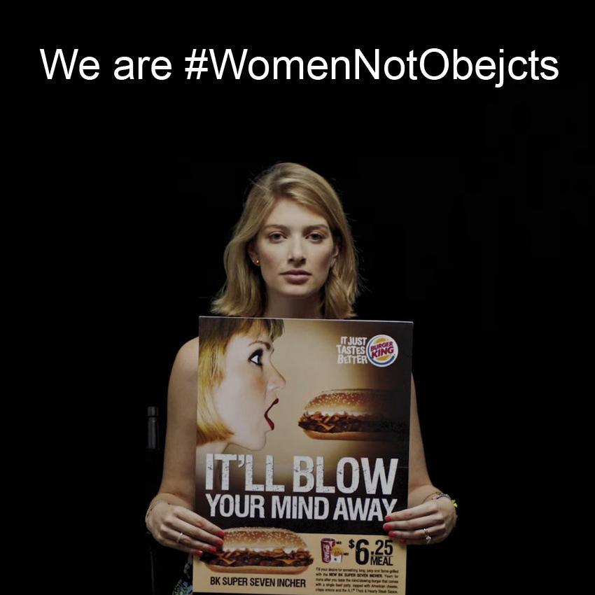 Jesteście kobietami, nie przedmiotami!