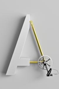 Takie projekty chce sięoglądać - świetny rowerowy font stworzony przez Polaka