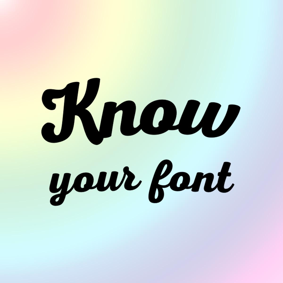 Zgadnij, jaki to font!