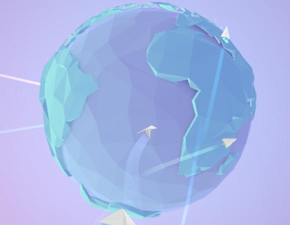 Wyślij w świat swój papierowy samolot z tą świetną aplikacją WWW