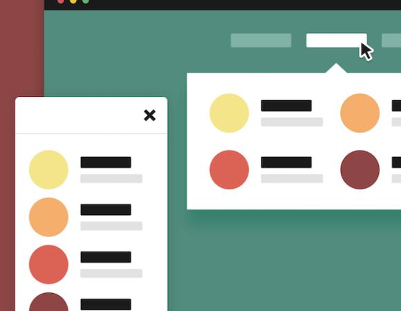 Proste i funkcjonalne menu w czystym CSS