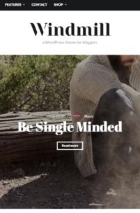 Windmill - piękny i darmowy motyw do Wordpress, który trzeba mieć w zakładkach
