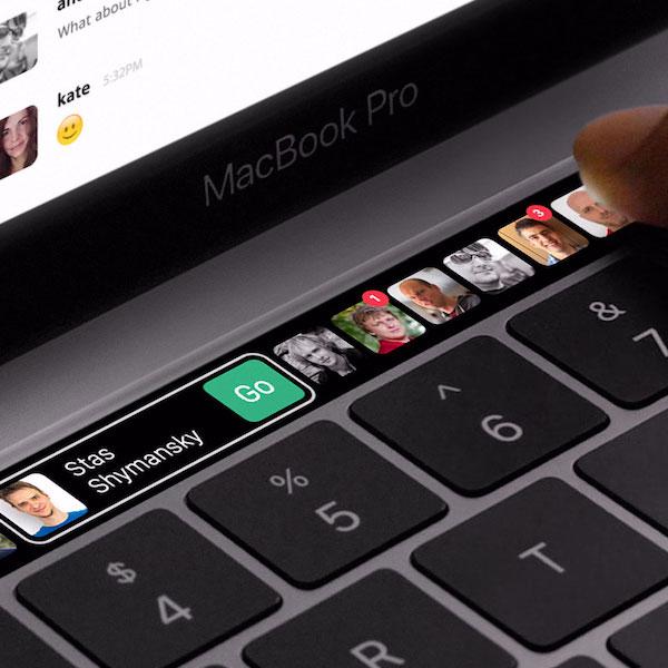 Touch Bar dla Slacka, mógłby wyglądać dokładnie tak