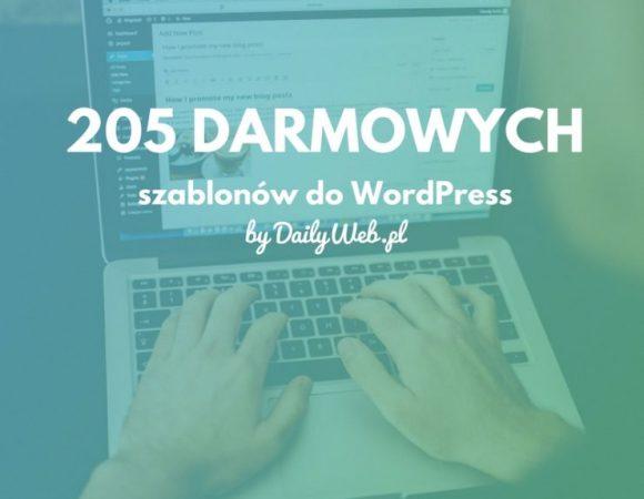205 darmowych motywów do Wordpress, powiększona edycja świąteczna!