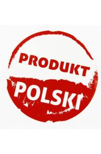 Takie rzeczy tylko w naszym kraju. Produkt Polski z fontem bez licencji