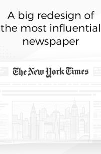 Niesamowity koncept na redesign strony The New York Times