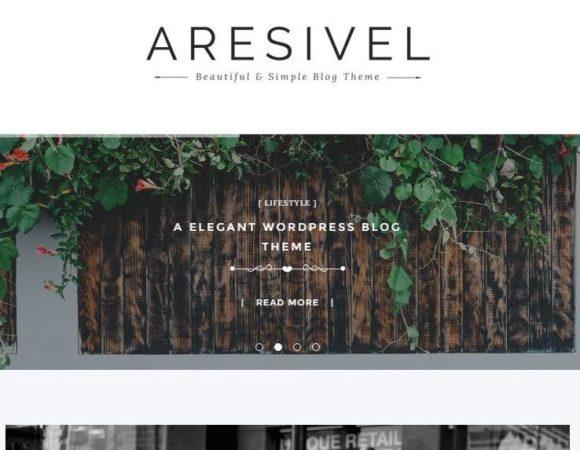 Aresivel - darmowy motyw miesiąca od Themeforest