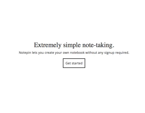 Notepin - notatnik w przeglądarce, którego nie da się nie polubić