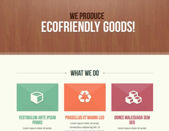 Ecobox - darmowy motyw na marzec od Theme Forest