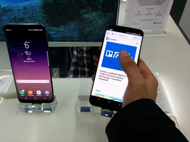 Samsung Galaxy S8 wręku