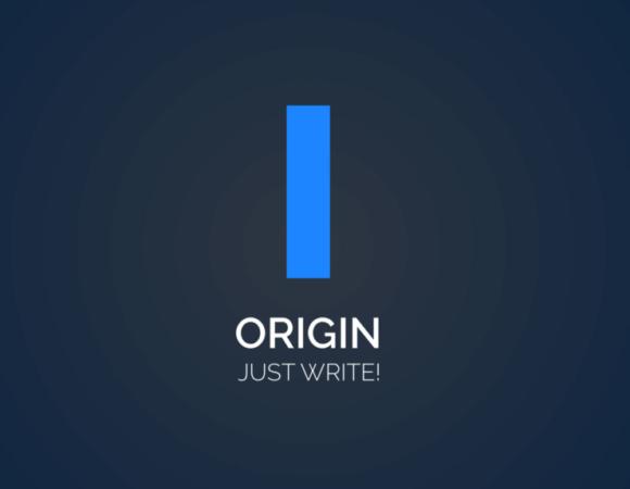 Edytor Origin - cyfrowa maszyna do pisania