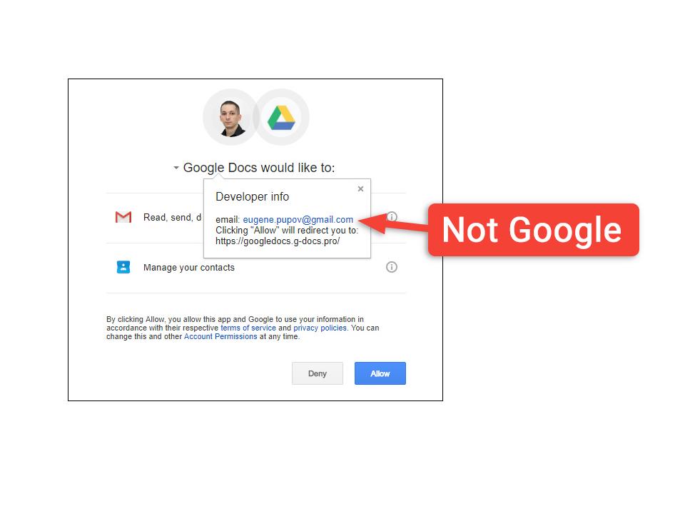 Atak Google Docs