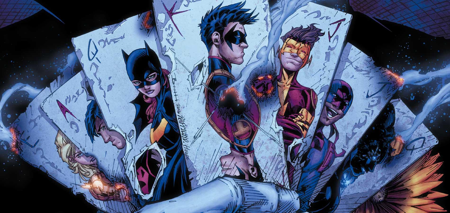 Komiks Teen Titans odDC Comics