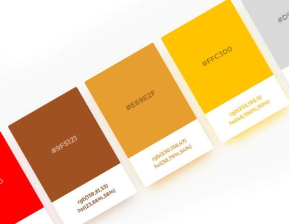 Generator palety kolorów - Ambiance