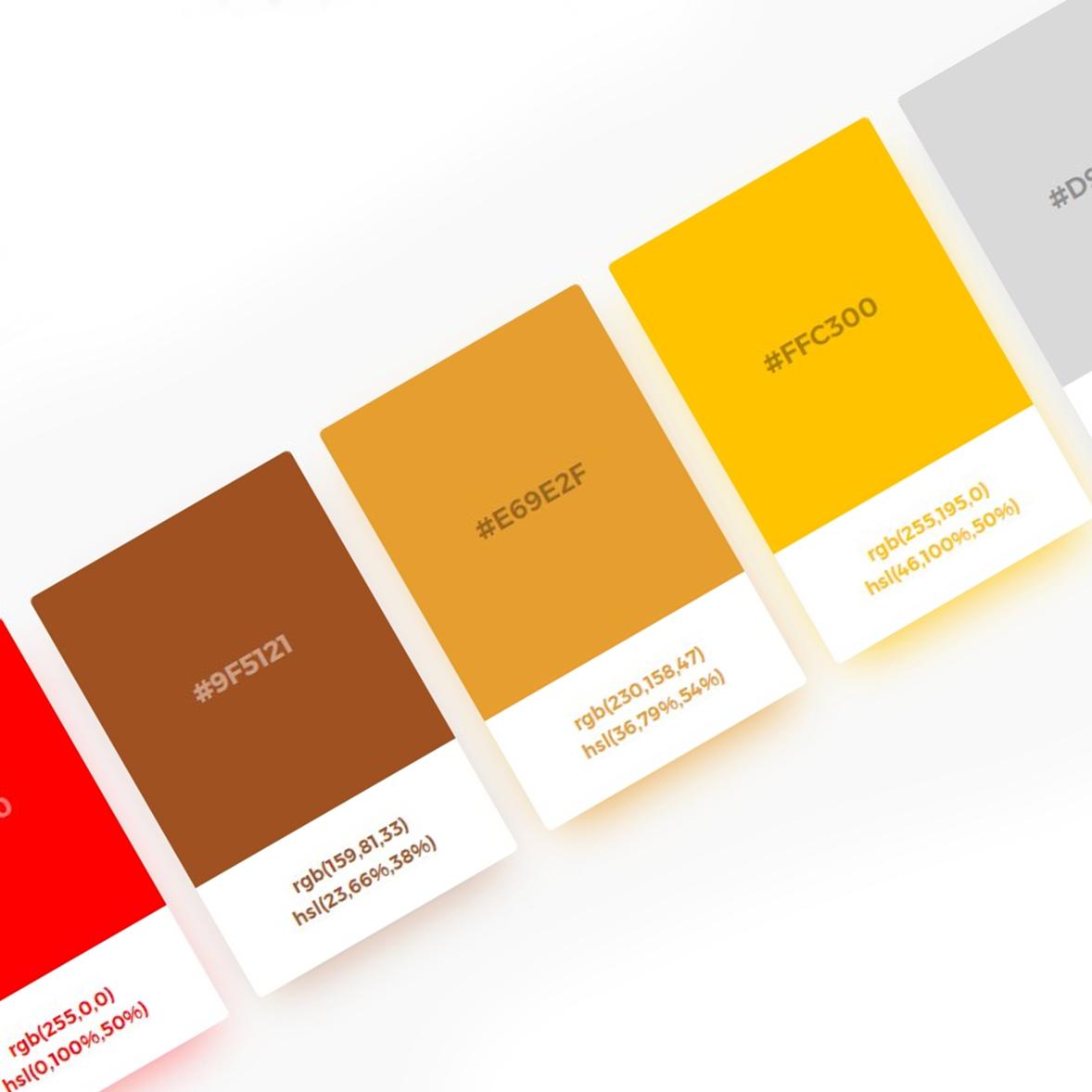 Generator palety kolorów – Ambiance