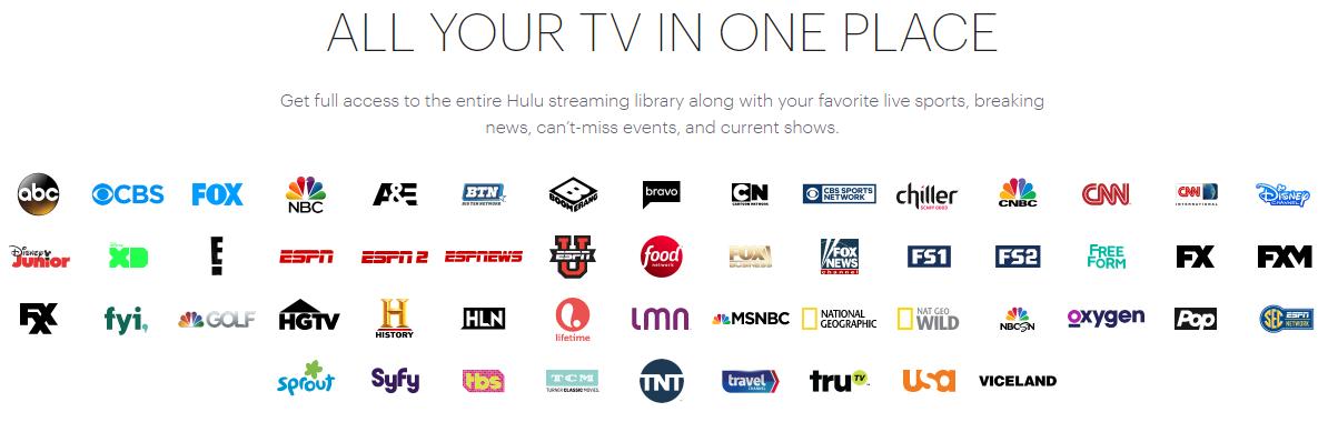 Hulu oferta programowa