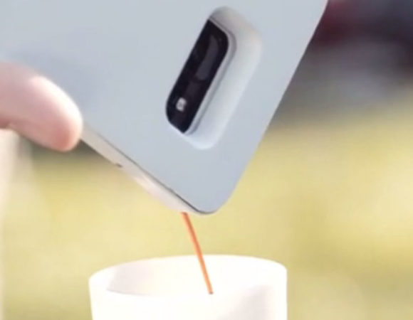 Myślałem że widziałem wiele... Wtem - obudowa do iPhona robiąca kawę.