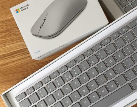Microsoft Surface Keyboard i Surface Mouse - pierwsze wrażenia